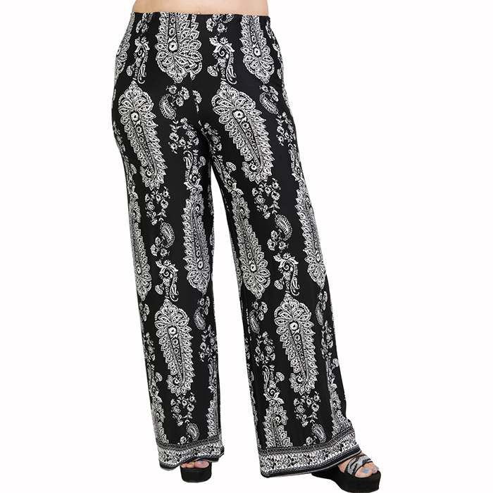 A21-7467 Jersey Culotte with elastic band