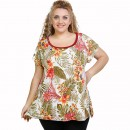 A21-7609 Alpha Blouse with pattern