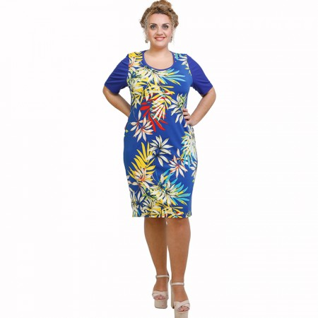 A21-8000V Jersey Dress in classic line