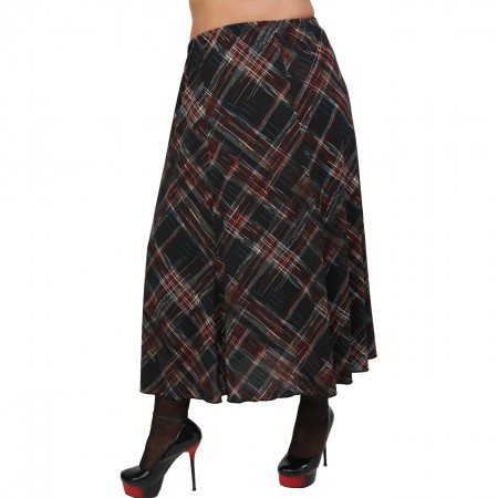 B20-5960 Jersey Closh Skirt with elastic band