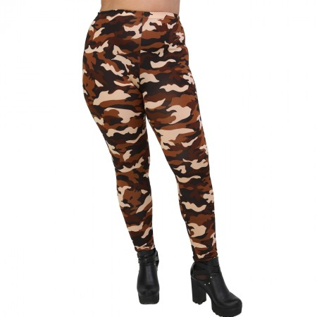 B20-6363 Camo print Leggings