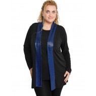 B19-2240 Classic formal cardigan - Royal Blue