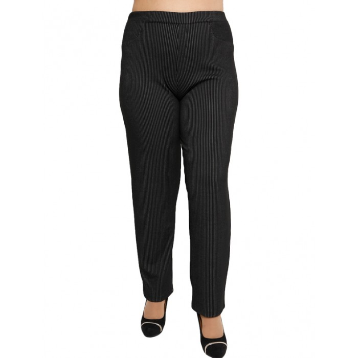 B19-3259 Fitted trousers with five pockets