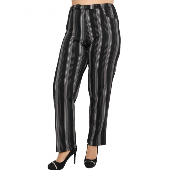 B19-3359 Fitted trousers with five pockets