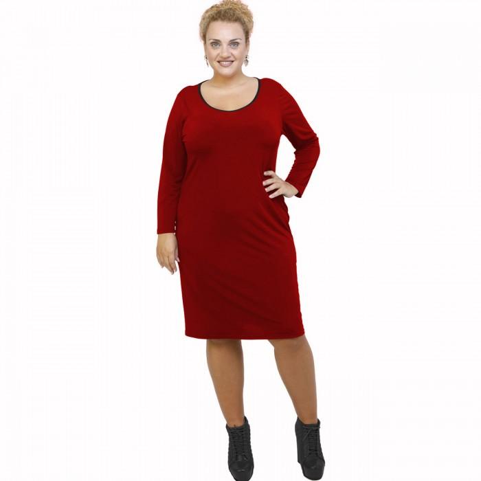 B21-100V Classic dress - Bordeaux