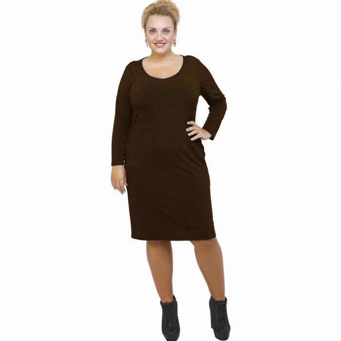 B21-100V Classic dress - Brown