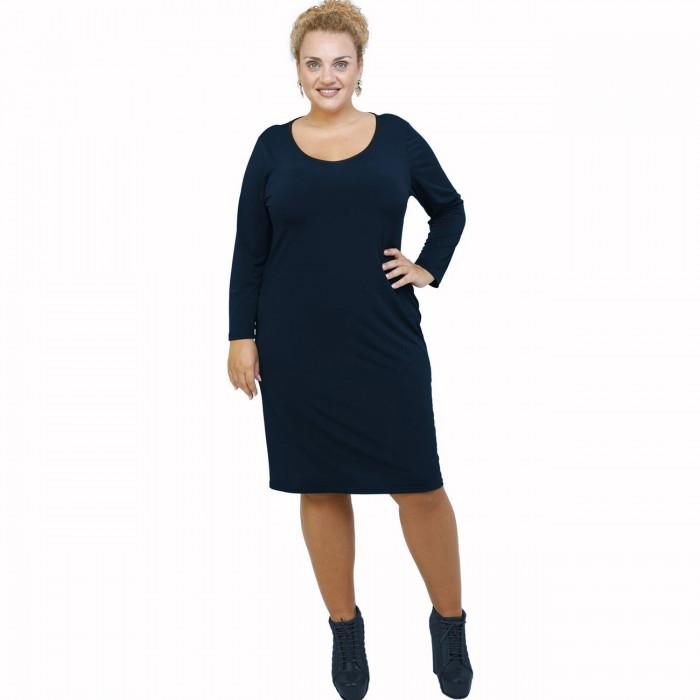 B21-100V Classic dress - Navy Blue