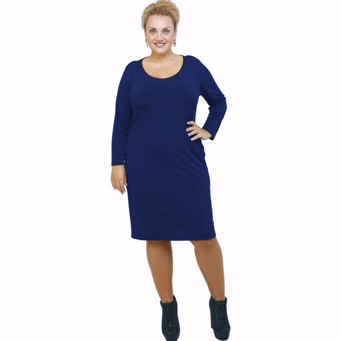 B21-100V Classic dress - Royal Blue