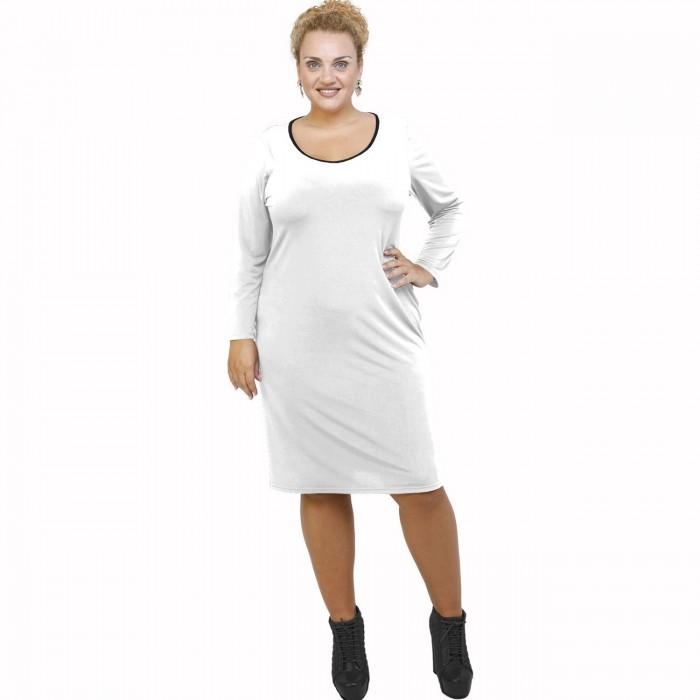 B21-100V Classic dress - White