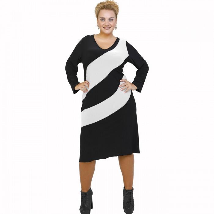 B21-192 Classic dress - White