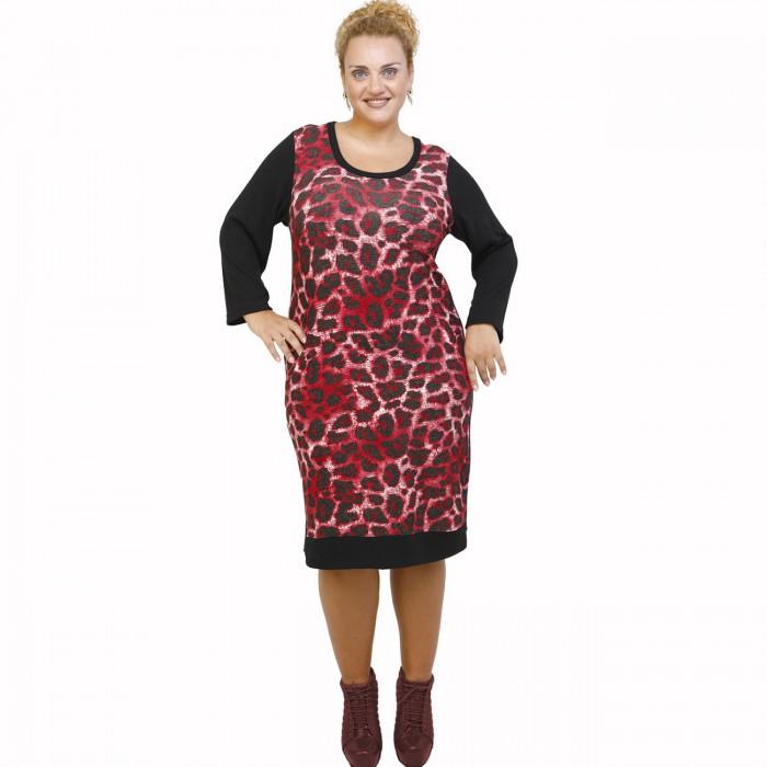B21-2800U Classic dress - Bordeaux