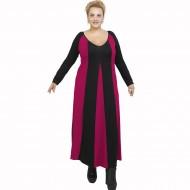 B21-296 Long dress - Fuchsia