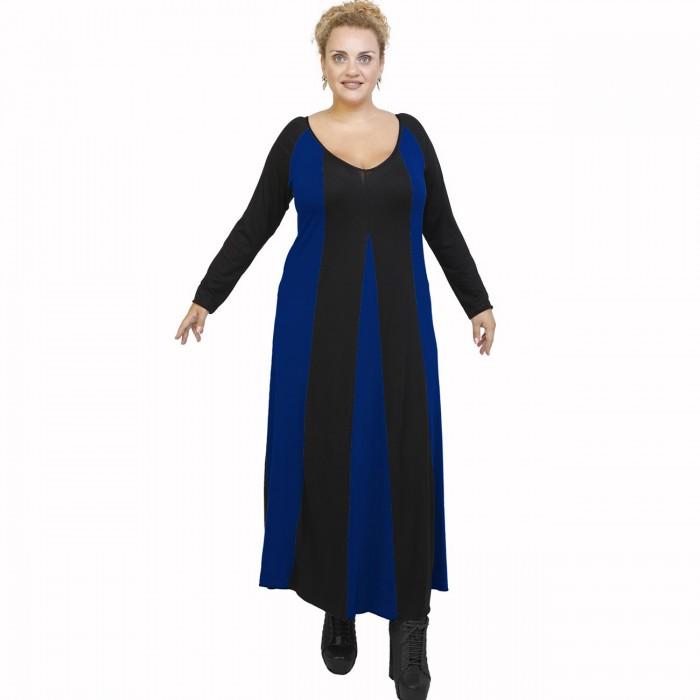 B21-296 Long dress - Royal Blue
