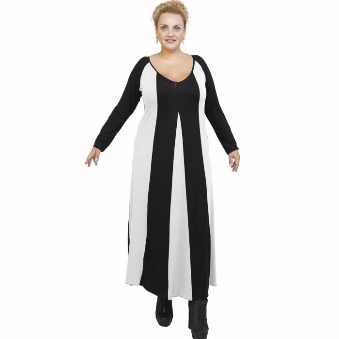 B21-296 Long dress - White