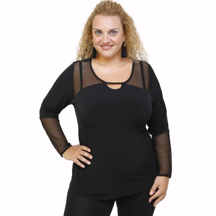 B21-5514L Evaze blouse