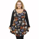 B21-7776 Blousedress with pattern